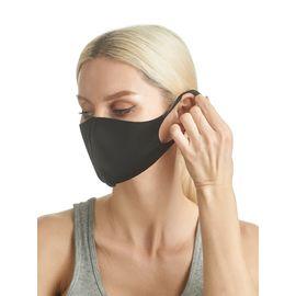 Маска из неопрена многоразовая, черная, размер S-M (1 шт.), С рисунком: Нет, Размер: S-M (окружность 48-55), Цвет маски: Чёрная, Тип товара: Многоразовая маска, фото , изображение 4