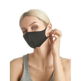 Маска из неопрена многоразовая, черная, размер S-M (1 шт.), С рисунком: Нет, Размер: S-M (окружность 48-55), Цвет маски: Чёрная, Тип товара: Многоразовая маска, фото , изображение 6