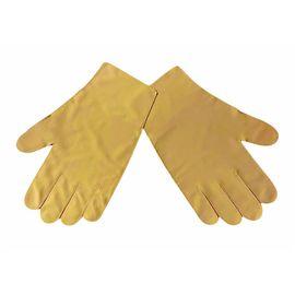 Перчатки детские тканевые тонкие, кофейные, Размер: для детей от 6 до 12 лет, Цвет перчаток: Кофейный, Тип товара: Перчатки тканевые, фото