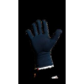 Перчатки хлопковые защитные с логотипом, чёрные, размер M, Размер: M, Цвет перчаток: Черный, фото , изображение 3