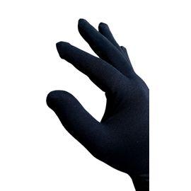 Перчатки хлопковые защитные с логотипом, чёрные, размер M, Размер: M, Цвет перчаток: Черный, фото , изображение 2