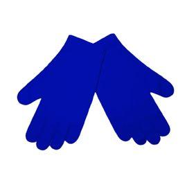 Перчатки тканевые тонкие, синие, размер S (1 пара), Размер: S, Цвет перчаток: Синий, Тип товара: Перчатки тканевые, фото