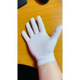 Перчатки хлопковые защитные, белые, размер L, Размер: L, Цвет перчаток: Белый, Тип товара: Перчатки тканевые, фото , изображение 5