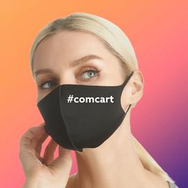 Упаковка многоразовых масок из неопрена для печати логотипа (упаковка 1000 шт.), фото
