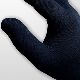 Перчатки хлопковые защитные, черные, размер L, Размер: L, Цвет перчаток: Черный, Тип товара: Перчатки тканевые, фото , изображение 3
