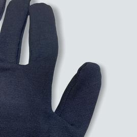 Перчатки хлопковые защитные, черные, размер L, Размер: L, Цвет перчаток: Черный, Тип товара: Перчатки тканевые, фото , изображение 5
