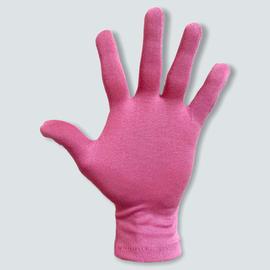 Перчатки трикотажные защитные, розовые, размер M, Размер: M, Цвет перчаток: Розовый, Тип товара: Перчатки тканевые, фото , изображение 2