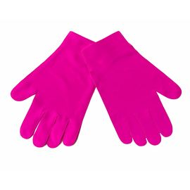 Перчатки тканевые тонкие, розовые, размер S (1 пара), Размер: S, Цвет перчаток: Розовый, Тип товара: Перчатки тканевые, фото