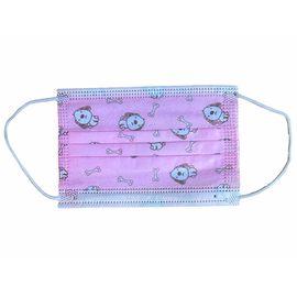 Маска медицинская детская одноразовая 3-х слойная розовая (50 шт.), Тип товара: Одноразовая маска, Цвет маски: Розовая, фото , изображение 2