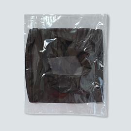 Маска защитная из сетки, чёрная, фото , изображение 3