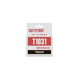 Картридж струйный EasyPrint IE-T1031 (C13T10314A10) для Epson (915 стр.), черный (С ЧИПОМ), Цвет: Чёрный, фото