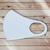 Маска из неопрена многоразовая, белая (1 шт.), С рисунком: без принта, Размер: S-M (окружность 48-55), Цвет маски: Белая, Тип товара: Многоразовая маска, фото , изображение 2