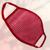 Маска защитная из сетки, розовая, Размер: L-XL (окружность 55-63), Цвет маски: Розовая, Тип товара: Сетчатая маска, фото