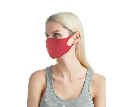 Маска из неопрена многоразовая, красная (1 шт.), С рисунком: без принта, Размер: S-M (окружность 48-55), Цвет маски: Красная, Тип товара: Многоразовая маска, фото , изображение 5