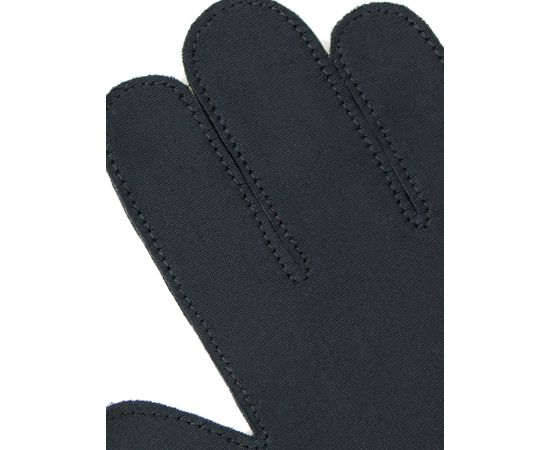 Перчатки тканевые тонкие, черные, размер M (1 пара), Размер: M, Цвет перчаток: Черный, Тип товара: Перчатки тканевые, фото , изображение 2