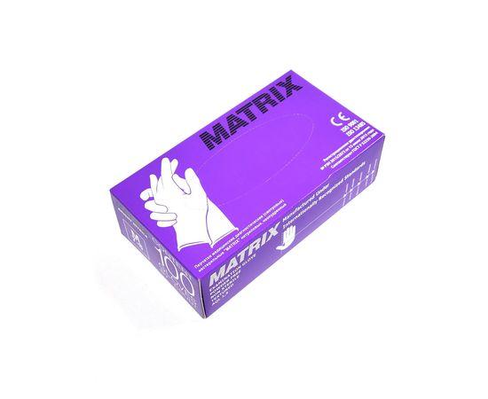 Перчатки одноразовые нитриловые Matrix Gloves ФИОЛЕТОВЫЕ СВЕРХПРОЧНЫЕ , 50 пар./100 шт., фото , изображение 3