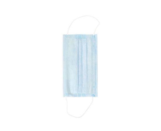 Одноразовые медицинские маски на резинках (упаковка 100 шт.), фото , изображение 2