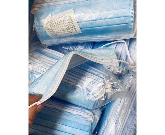 Маски одноразовые медицинские DFM (от 1000 штук), фото , изображение 3