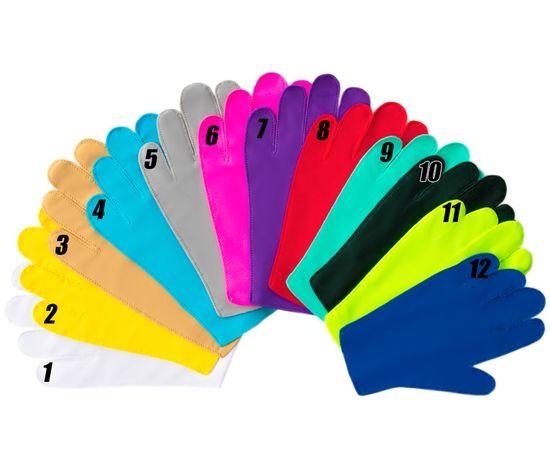Перчатки детские тканевые тонкие, салатовые, Размер: для детей от 6 до 12 лет, Цвет перчаток: Салатовый, Тип товара: Перчатки тканевые, фото , изображение 3