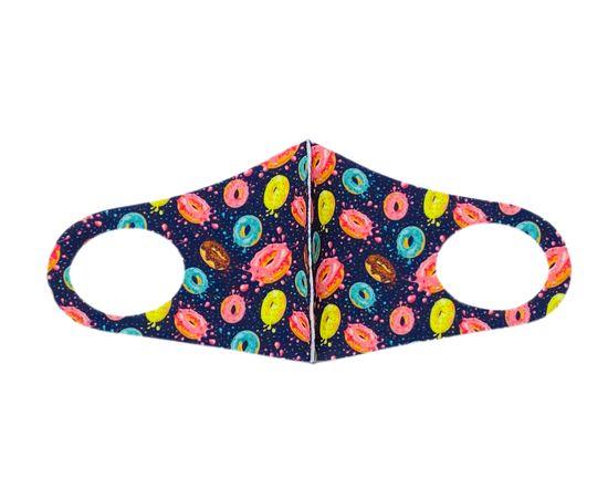 Детская текстильная маска (пончики), фото 1