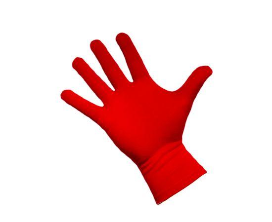 Перчатки трикотажные защитные, красные, размер M, Размер: M, Цвет перчаток: Красный, Тип товара: Перчатки тканевые, фото , изображение 2
