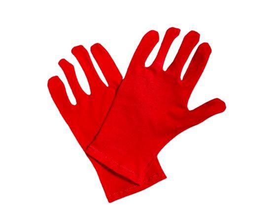 Перчатки трикотажные защитные, красные, размер M, Размер: M, Цвет перчаток: Красный, Тип товара: Перчатки тканевые, фото , изображение 3