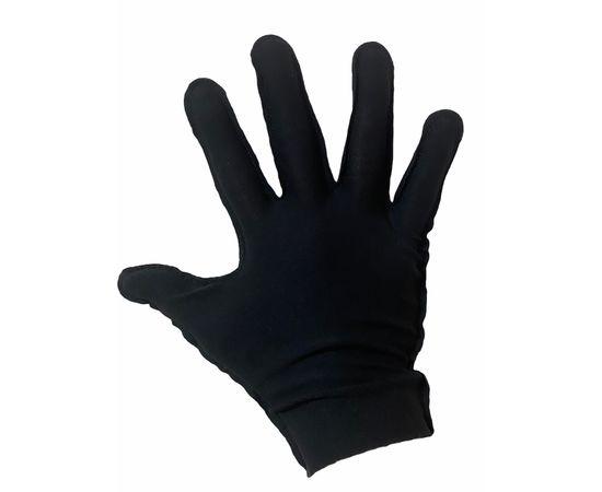 Перчатки трикотажные защитные, черные, размер L (ЭКОНОМ), Тип товара: Перчатки тканевые, Размер: L, Цвет перчаток: Черный, фото , изображение 2