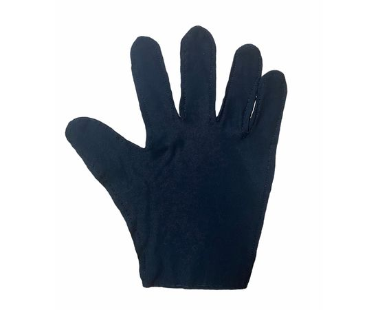 Перчатки трикотажные защитные, черные, размер M (ЭКОНОМ), Тип товара: Перчатки тканевые, Размер: M, Цвет перчаток: Черный, фото , изображение 3