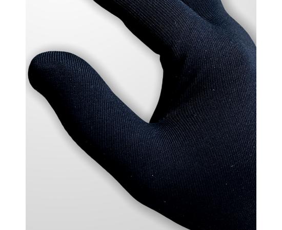 Перчатки хлопковые защитные, черные, размер M, Размер: M, Цвет перчаток: Черный, Тип товара: Перчатки тканевые, фото , изображение 3