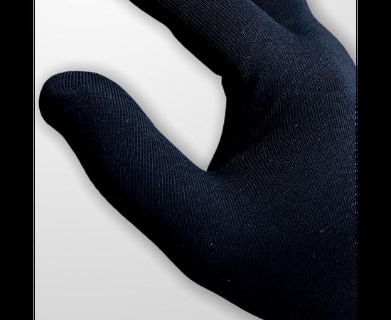 Набор защитный - хлопковая маска и тонкие трикотажные перчатки, фото , изображение 2