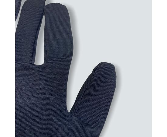 Перчатки хлопковые защитные, черные, размер M, Размер: M, Цвет перчаток: Черный, Тип товара: Перчатки тканевые, фото , изображение 5
