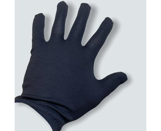 Перчатки хлопковые защитные, черные, размер M, Размер: M, Цвет перчаток: Черный, Тип товара: Перчатки тканевые, фото , изображение 6