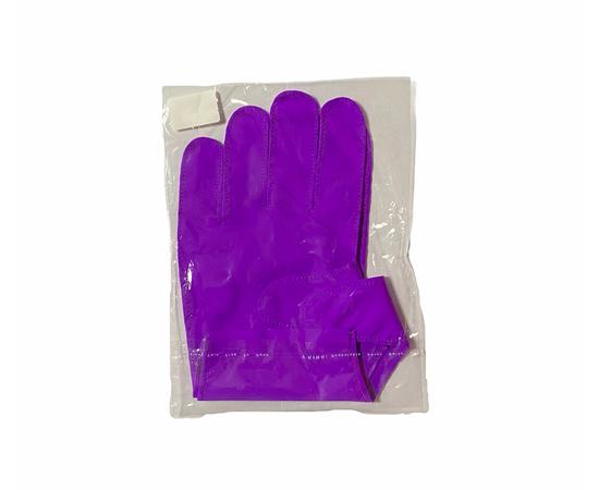 Перчатки тканевые тонкие, фиолетовые, размер M (1 пара), Размер: M, Цвет перчаток: Фиолетовый, Тип товара: Перчатки тканевые, фото , изображение 2