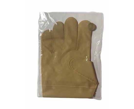Перчатки тканевые тонкие, кофейные, размер ХL (1 пара), Размер: XL, Цвет перчаток: Кофейный, Тип товара: Перчатки тканевые, фото , изображение 2
