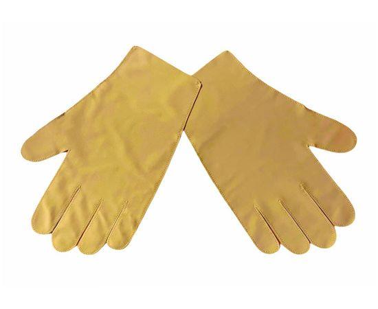 Перчатки тканевые тонкие, кофейные, размер L (1 пара), Размер: L, Цвет перчаток: Кофейный, Тип товара: Перчатки тканевые, фото