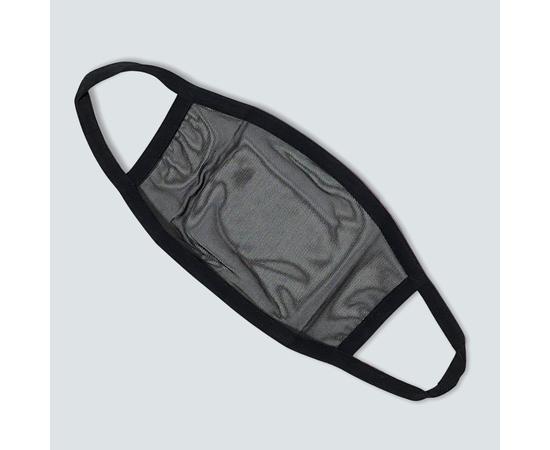 Маска защитная из сетки, чёрная, фото , изображение 2