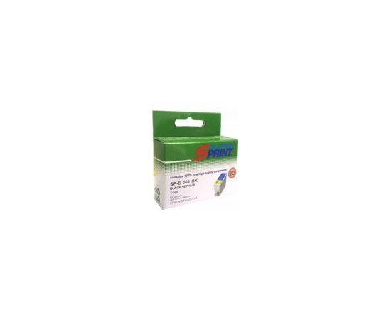 Картридж струйный Solution Print SP-E-066 iBk, совместимый с Epson T066 (C13T06614010), чёрный, фото