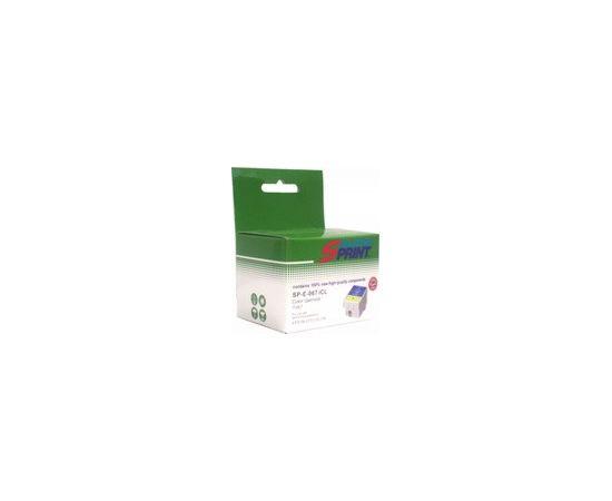 Картридж струйный Solution Print SP-E-067 iСl, совместимый с Epson T067 (C13T06704010), цветной, фото