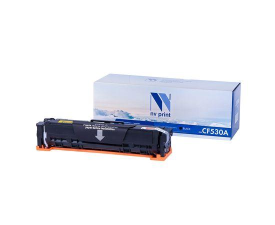 Картридж NVP совместимый NV-CF530A Black для HP Color LaserJet Pro M180n/ M181fw (1100k), Тип расходного материала: Совместимый картридж, Цвет: Чёрный, Ресурс: 1100, фото