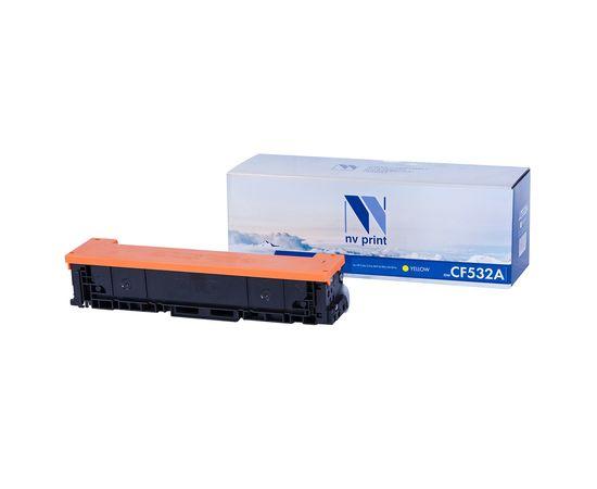 Картридж NVP совместимый NV-CF532A Yellow для HP Color LaserJet Pro M180n/ M181fw (900k), Тип расходного материала: Совместимый картридж, Цвет: Пурпурный, Ресурс: 900, фото