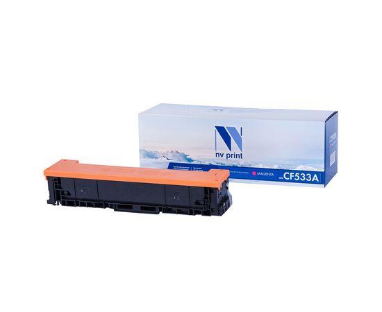 Картридж NVP совместимый NV-CF533A Magenta для HP Color LaserJet Pro M180n/ M181fw (900k), Тип расходного материала: Совместимый картридж, Цвет: Желтый, Ресурс: 900, фото